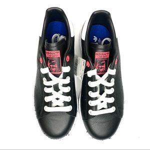 Adidas Stan Smith Black & Pink Splatter Sneakers